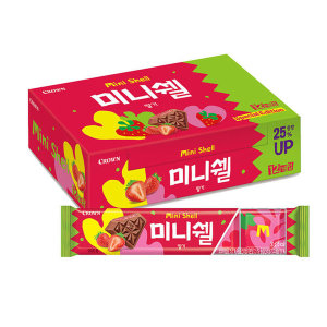 미니쉘 딸기 1박스(30g 12개입)
