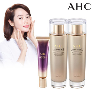 [ahc] AHC 이에지리스 앰플 기획세트 (아이크림+앰플+쇼핑백)
