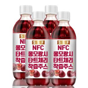 [순수식품] NFC 몽모랑시 타트체리 착즙 주스 100% 원액 4병(총2L)