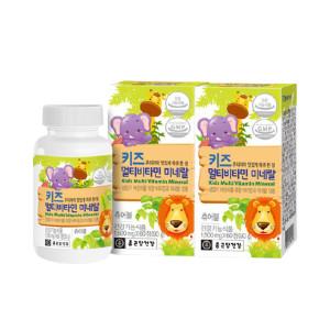 종근당 건강 키즈 멀티비타민 4개월