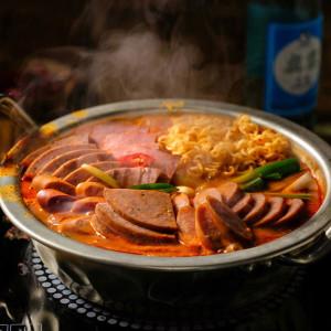 아빠식당 리얼 햄듬뿍 부대찌개 600g2팩(+사리면2개)