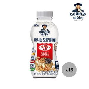 [롯데제과] 퀘이커 마시는 오트밀F 단백질2.0 16개입 1박스