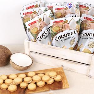 NEW!태국쇼핑템 코코넛크림 비스킷 10봉+1봉더!