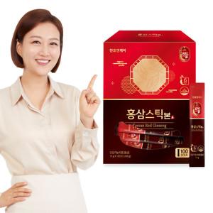 [단독16%]홍삼스틱 본 10g 100포
