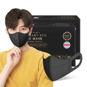 스마트에코 이유 성인용 블랙 100매 마스크