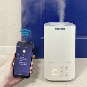 살균가열 가습기+핸드폰어플연동