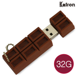 칼론 캐릭터 초콜릿 USB메모리 32G