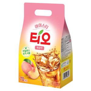 [티오] 티오 아이스티 복숭아맛 70T +6T 증정