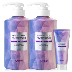 에이썸 여성청결제 500mlX2개+200ml 피부테스트완료