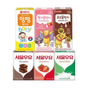 서울우유 멸균우유 200ml 24팩