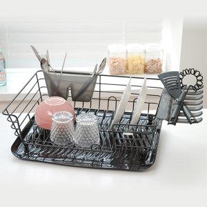 [러버메이드] 러버메이드 대형 항균 식기건조대/주방용품/선반