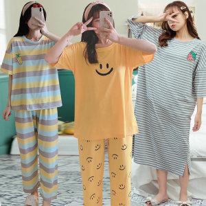 여성잠옷 모음/파자마세트/원피스홈웨어/겨울잠옷
