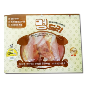멍도리 대용량 강아지간식 6봉