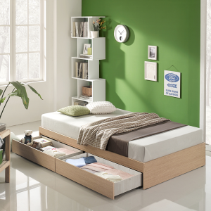 [하포스] 매트포함 서랍형침대 침대프레임/침대매트리스