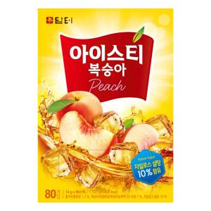 담터 복숭아 홍차 160T/아이스티/레몬에이드/