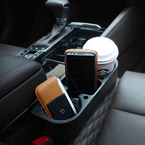 [엑스핏] XFIT 차량용 3구 컵홀더 음료수 커피 자동차 수납용품