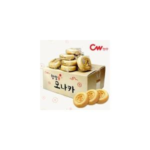 [CW청우] 대용량 벌크 청우 찹쌀 모나카 (27입)/간식/과자/한과