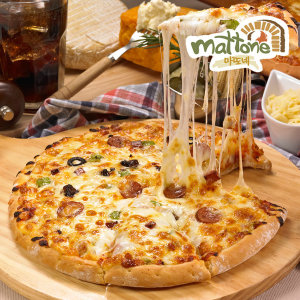 마또네 치즈 피자 골드 치즈피자 4판 피자판매1위