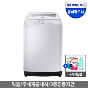 [삼성전자] 인증점 삼성 워블 세탁기 10kg WA10F5S2QWW1