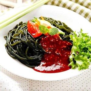[해조미] 바로먹는 완도산 미역국수5팩 + 비빔소스5팩  하이푸드
