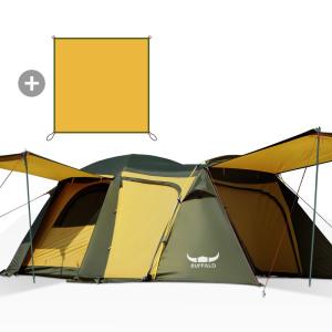 [BUFFALO] 리빙쉘 와이드돔 텐트 뉴 리빙쉘 와이드 거실형 텐트