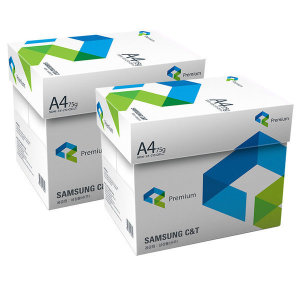 직배송 삼성 A4 복사용지(A4용지) 75g 2박스