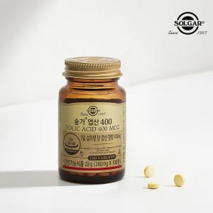 [솔가] 엽산 400 (100정/3개월10일) 본사직영
