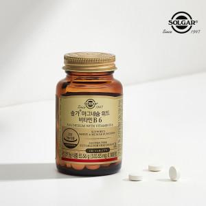 [솔가] 마그네슘 위드 비타민 B6 (100정/1개월3일)