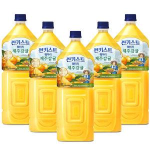 썬키스트제주감귤 2Lx 6펫 /오렌지주스/음료수