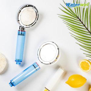 워터웰 비타민 정수 샤워기 + 녹물제거 필터