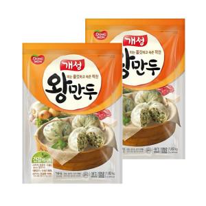 [개성] (현대Hmall) 동원 개성왕만두 1.82kgX2봉 (총3.64kg) /대용량/김치/감자