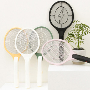 [가쯔] 벌레퇴치 휴대용 스마트 전기 모기채 2개 해충퇴치기