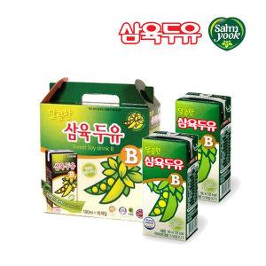 [삼육두유] 삼육두유 달콤한 B 190ml 16팩/건강음료 콩두유