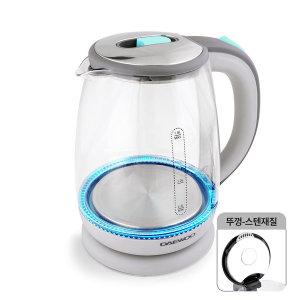 [키친아트] 대우 유리포트 전기주전자 무선 커피포트 1.5리터