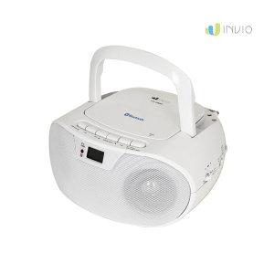 [인비오] CD-600BT 블루투스 CD플레이어  라디오 리모컨포함