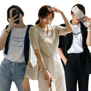 겨울신상 티셔츠/슬랙스/스커트/원피스/블라우스/자켓