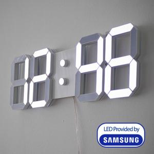 티메이드 3D 벽걸이LED시계 LED벽시계