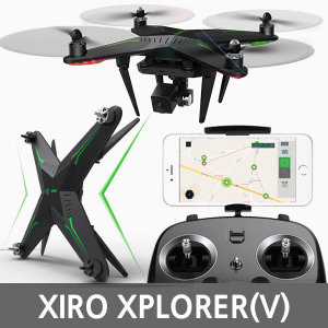 정식수입 XIRO XPLORER(V)카메라짐벌포함 드론/자이로