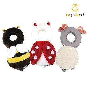[아가드] 아이쿵 머리쿵 꿀벌 쿠션 유아 아기 머리보호대 1입