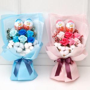 졸업식 꽃다발 킨더조이 사탕부케 재롱잔치사탕꽃다발