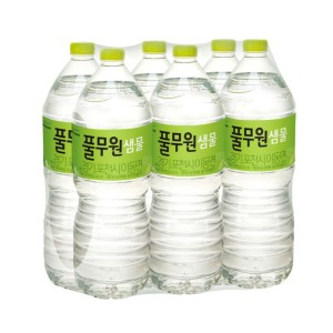 믿고마시는 풀무원 샘물 생수 2L 12입 무배