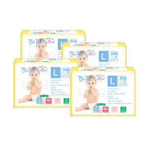 [베베몬] 테일러드핏 팬티기저귀 대형 4팩 (8-12kg)-착한위크