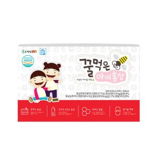 [고철남홍삼] 어린이 전체식홍삼 꿀먹은아이홍삼 20ml x 30포