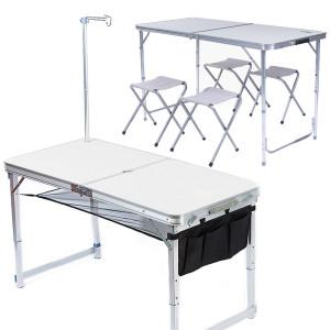 [아웃팅] 아웃팅 프리미엄 캠핑테이블+의자세트