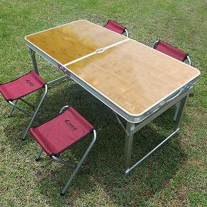 트렌스포머 테이블+의자4개 야외 접이식 캠핑 피크닉