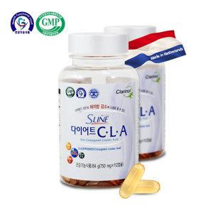 S라인 다이어트 CLA 4주분-112캅셀/체지방/뱃살 관리