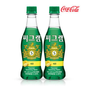[씨그램] 씨그램 레몬 350ml x24pet/음료수