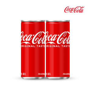 [코카콜라] 코카콜라 250ml x30캔/음료수/탄산