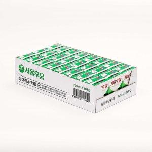 서울 멸균흰우유 200MLx24 박스