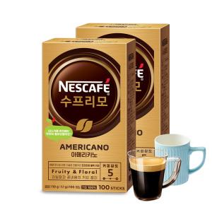 [네스카페] 수프리모 아메리카노 200T /커피믹스/커피